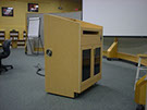 Professional Audio Installation Co. multimedia lectern in training room